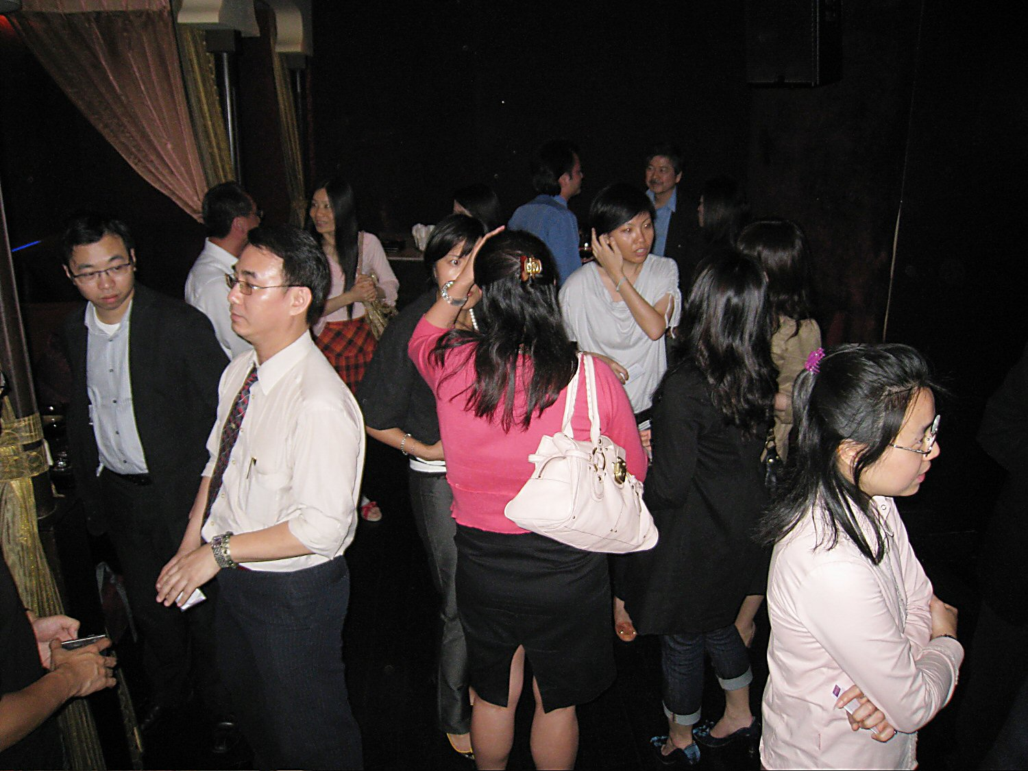 HKTX and MBSAA China Joint Network Drink @ Prive