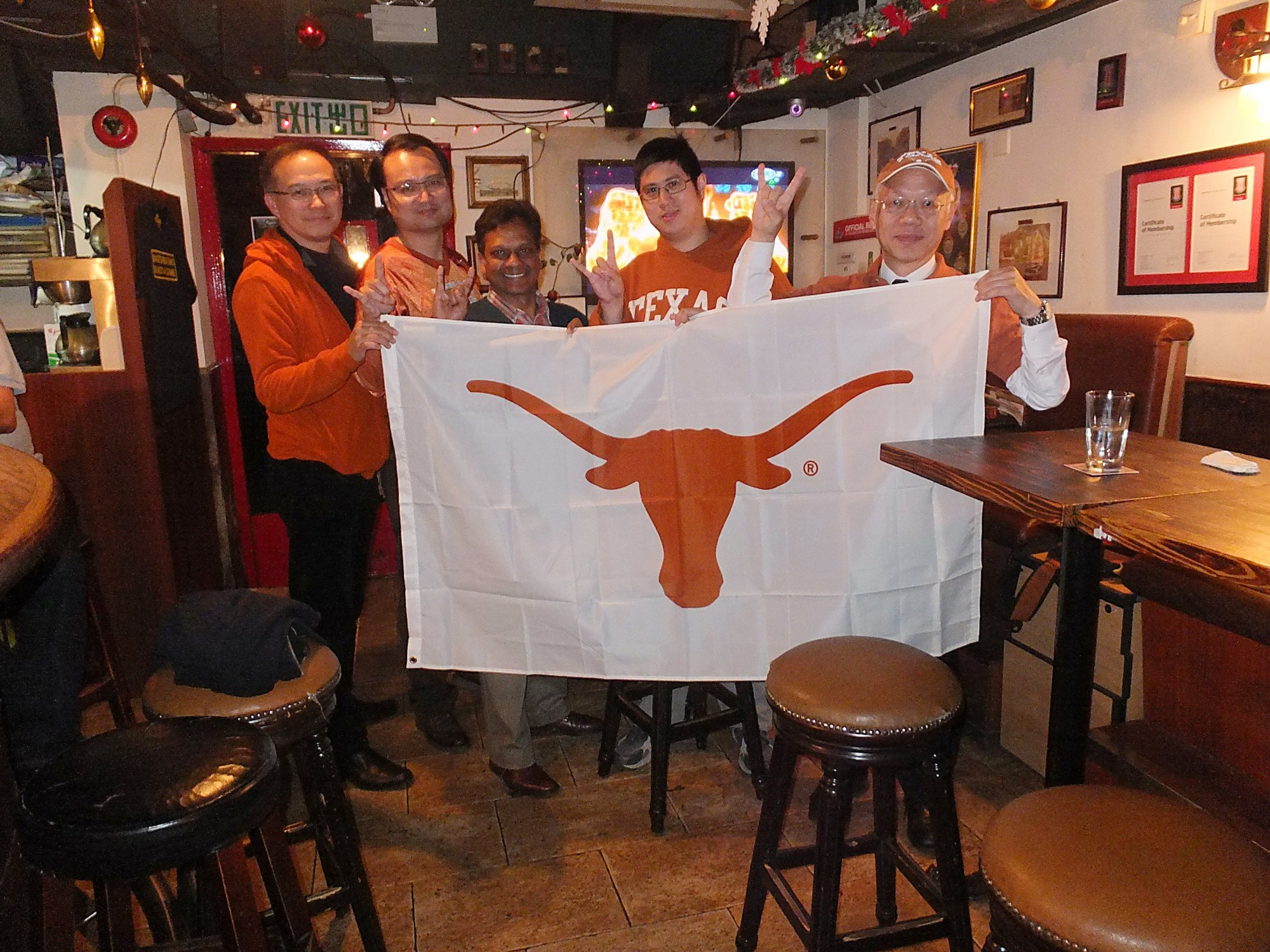 Texas in Texas Bowl Live Watching Party