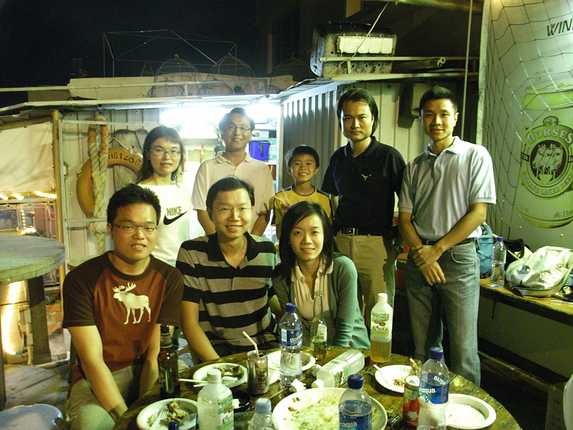 Joint Barbeque Party with UCLA Alumni HK
