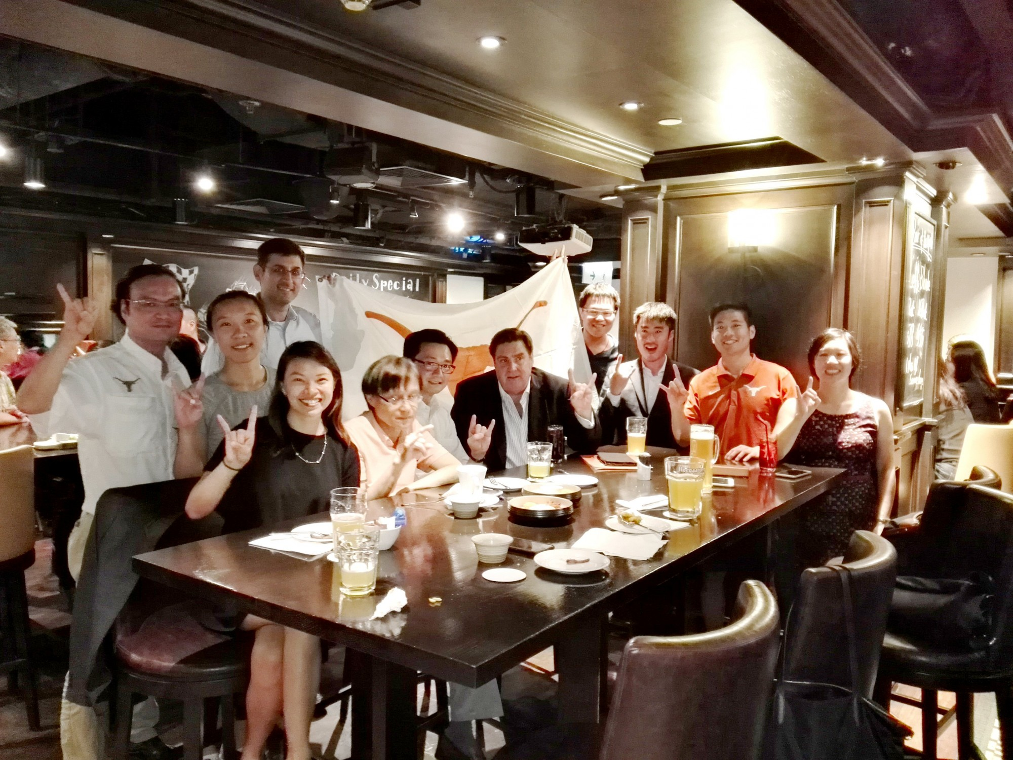 Happy Hour with UT Director of Development Jennifer Wang