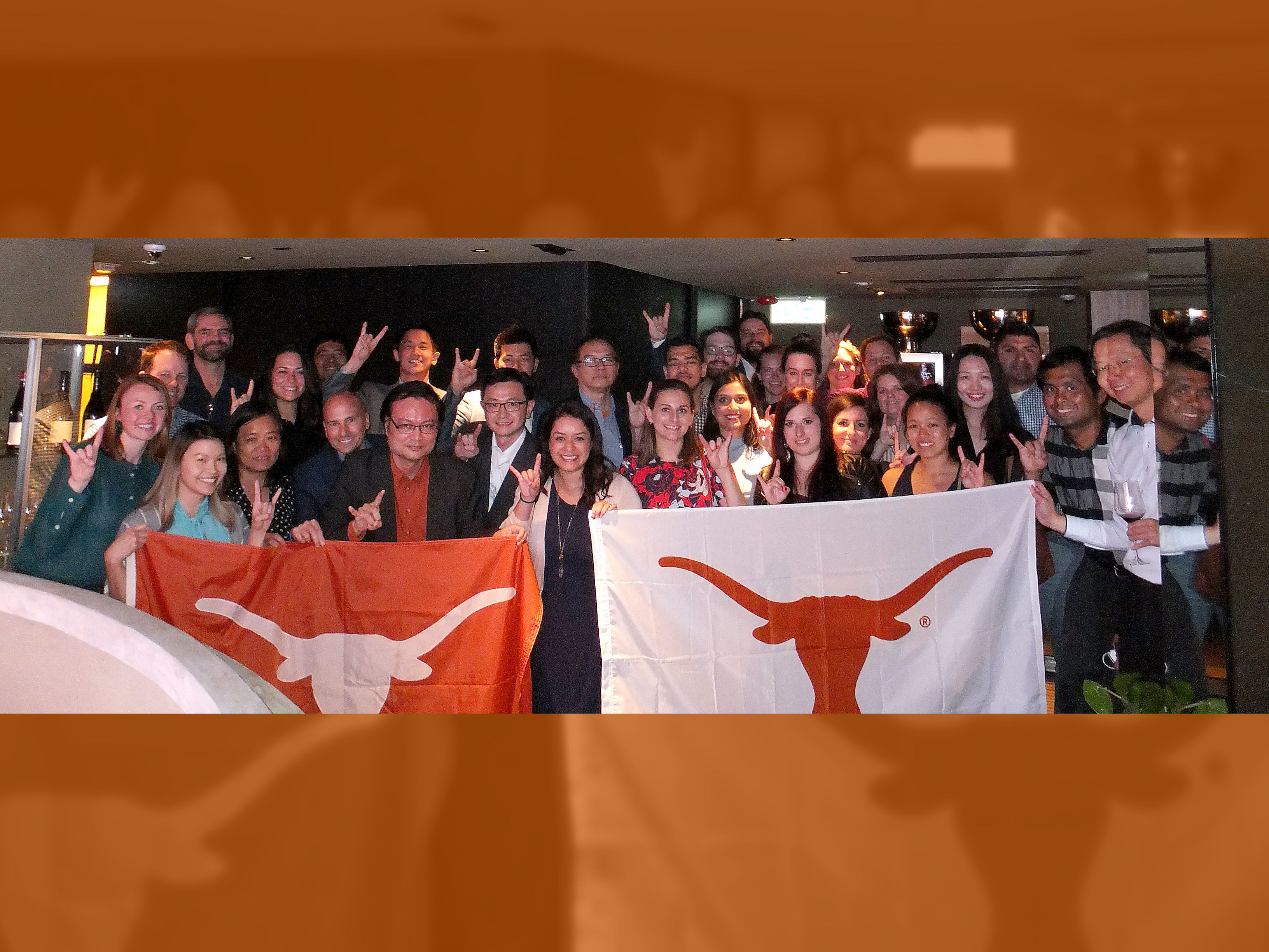 Gathering with UT Global Connections Faculty and Students